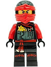 LEGO Unisex Wecker Digital Red 9009440