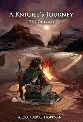 Book cover image for A Knight's Journey: The Outcast