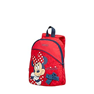 American Tourister New Wonder – Backpack Small Disney Mochila Infantil, 28 cm, 7 Liters, (Minnie Bow)