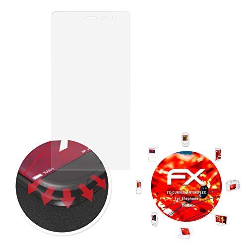 atFolix Schutzfolie passend für Elephone Trunk Folie, entspiegelnde & Flexible FX Bildschirmschutzfolie (3X)