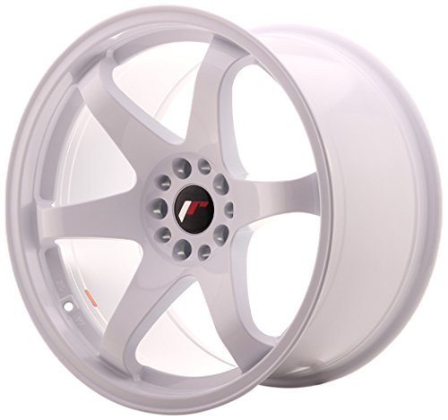 JAPAN Racing JR3 White 10.5 x 19 eT22 5 x 114/120 jantes en alliage