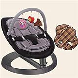 MISTLI Bambino Rocking Chair E Giocattolo Sedia A Dondolo Rack Anti-Skid Pad Multi-Bambino di Funzione Automatica Altalena,A