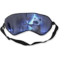 Eye Mask Eyeshade Cute Panda Sleep Mask Blindfold Eyepatch Adjustable Head Strap preisvergleich bei billige-tabletten.eu