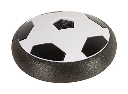Playmaker Toys Air Power Soccer Disk, Indoor [Hover Action] Air Soccer With Foam Bumpers And Led Lights