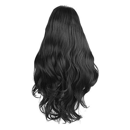 Conditioner Shampoo Und Kostüm - Barlingrock Vordere Spitze-reizvolle Perücke Plus Haut-Haarnetz-Schwarz-lockiges Haar-Kurze Perücke Art und Weise reizvolle Spitze-vordere Wellen-synthetische Perücke-Längen-Haar