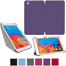 """rooCASE origami Slim Folio Funda con Soporte para tablet Samsung Galaxy Tab Pro 8,4"""", 10,1"""", 12,2, Galaxy Note Pro 12,2"""", Note 10,12014, Galaxy Tab 37,0, 8,0, 10,1"""" morado Galaxy Tab Pro 8.4"""