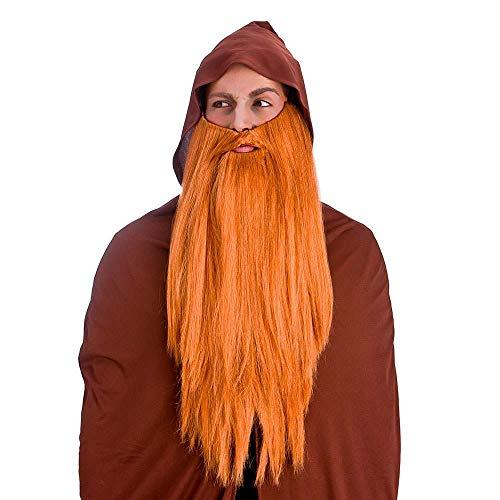 Deluxe Long Beard - Ginger ** - Assistent Kostüm Männer