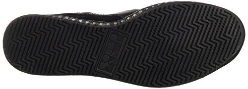 Diadora B.Original, Sneaker a Collo Basso Uomo Nero (Nero/Grigio)