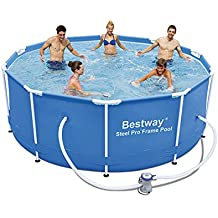 Bestway Steel Pro Piscina desmontable tubular, 305 x 100 cm, 56334