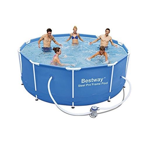 "Bestway 56334GS-03 Frame Pool""Steel Pro"" Set mit Filterpumpe, 305 x 100 cm"