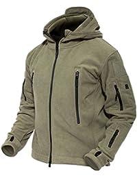 MAGCOMSEN Men 's Windproof Warm Military Tactical Fleece Jacket