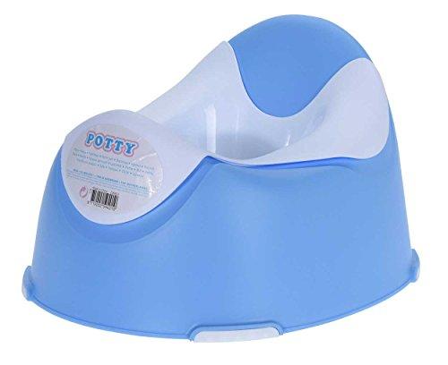 Eliware Hochwertiges Kindertöpfchen mit Hellen Farben   Blau