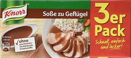 Knorr Geflügel Soße 3 x 250 ml, 15er-Pack
