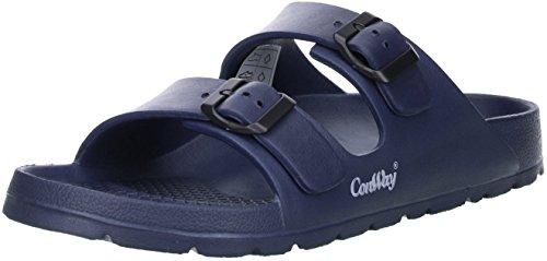 Conway Mistral Herren Badeschuhe Latschen Sandalen Pantoletten blau, Größe:42;Farbe:Blau