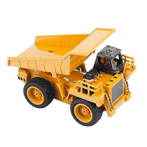 RC Auto kaufen Baufahrzeug Bild 4: Alomejor RC Bauwagen, Mini DIY Baufahrzeug RC Bagger Truck Bagger Kits Baustein Spielzeug(Kipper)*