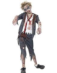 Schulkind-Nur Jungen Kinder Halloween-Zombie-Kostüm (ca. 10-12 Jahre)