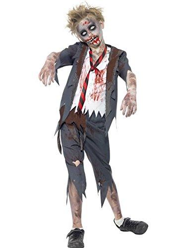 Schulkind-Nur Jungen Kinder Halloween-Zombie-Kostüm (ca. 10-12 (Kostüme Jungen Zehn Jahren Für)