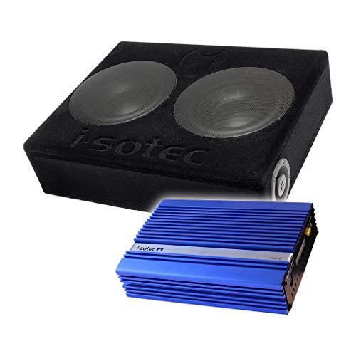 I-SOTEC Auto/KFZ Digital Plug & Play Upgrade Soundsystem (Subwoofer+Endstufe) kompatibel für Nissan (Infinity Subwoofer)