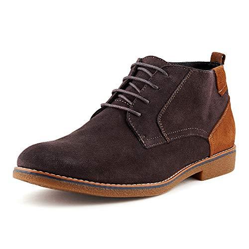Fusskleidung Herren Business Casual Halbschuhe Stiefeletten Leder Stiefel -