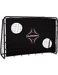 Hudora Free para portería de fútbol, para portería de fútbol de portería Kick con jardín–76922