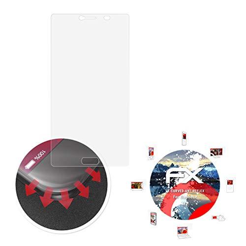 atFolix Schutzfolie passend für Elephone M2 Folie, entspiegelnde & Flexible FX Bildschirmschutzfolie (3X)