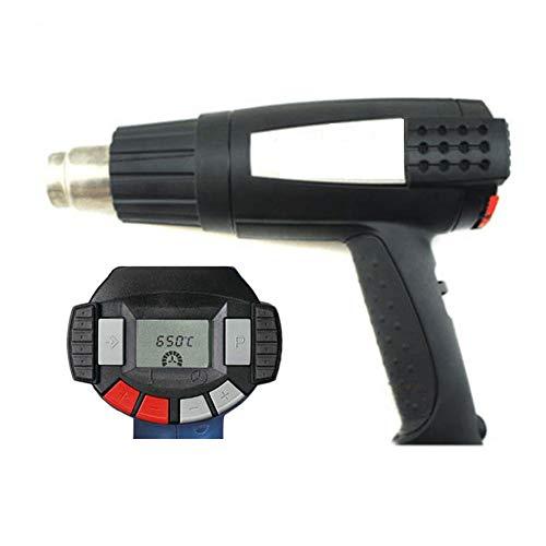ESD-Funktion Heissluftgebläse 2300W Heißluftpistole Elektronische Temperatureinstellung: 50-650 ° C Luftstrom(zweiter Gang): 150-500 Liter/Minute