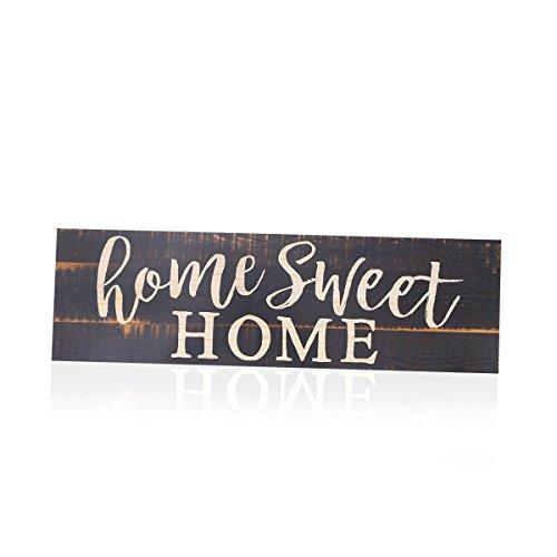 eet Home Schild Tür Ornament Decor 40x 12x 0,5cm ()