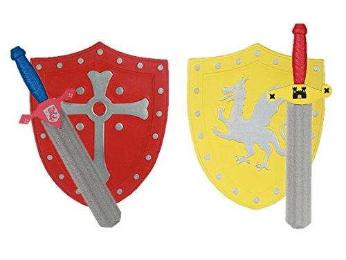 Espada de goma eva y Escudo para Niños