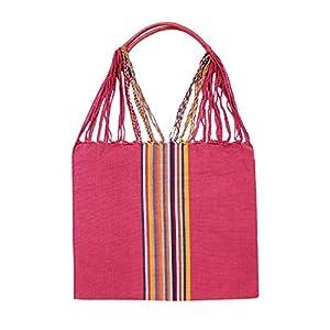 Einkaufstasche Boho Palmira 'altrosa'; Handgewebt, Handtasche, HANDARBEIT, Tasche, Geschenkidee für Frauen