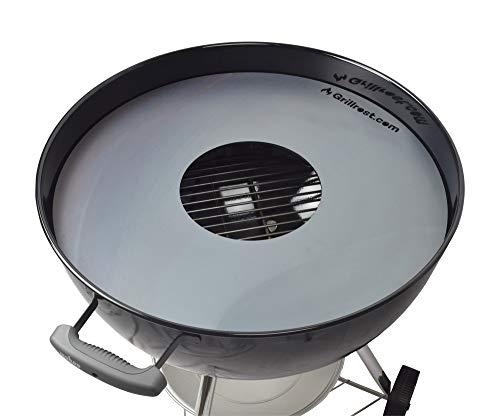 Feuerplatte | Grillring | Grillplatte | Plancha - Passend für Weber 57er Kugelgrill - Der Neue Grill-Trend (für 57er Kugelgrill)