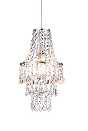 Lámpara de la marca ILLUMINATE, efecto cascada de cristal, colgante d