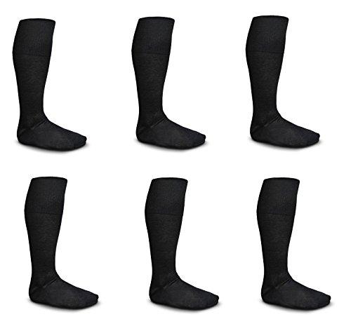 6-calzini-uomo-pierre-cardin-lunghi-filo-di-scozia-39-41-blu-nero-antracite