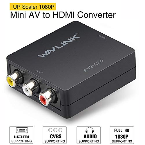 RCA to HDMI Converter,Wavlink 10...