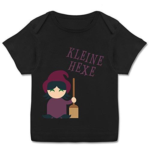 Kostüm Mops Frechen - Halloween Baby - Kleine Hexe süß - 56-62 (2-3 Monate) - Schwarz - E110B - Kurzarm Baby-Shirt für Jungen und Mädchen