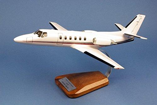 cessna-550b-citation-large-mahogany-model-aircrafts-collection