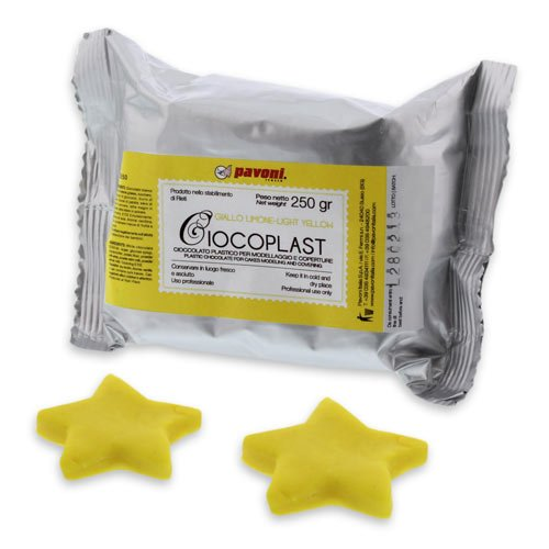 de Fondant, gelb, Fondant Schokolade (Gelbe Schokolade)
