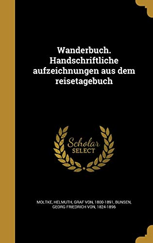 GER-WANDERBUCH HANDSCHRIFTLICH