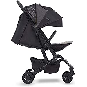 Micralite ProFold Lightweight Stroller. Compact Carbon Stroller. Suitable from Birth - 15kg. One Handed Fold, Cabin Approved, Four Wheel Suspension   3