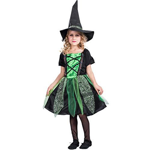 EraSpooky Hexe Kostüm Faschingskostüme Hexenkostüm Cosplay Halloween Party Karneval Fastnacht - News Girl Kostüm