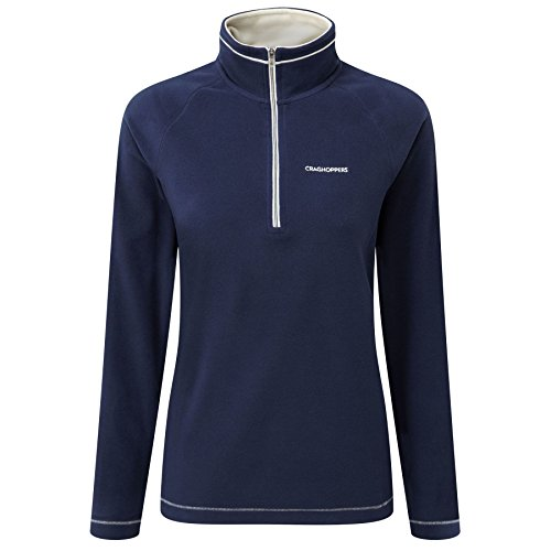 craghoppers-womens-seline-half-zip-microfleece-pullover-top-night-blue-size-12