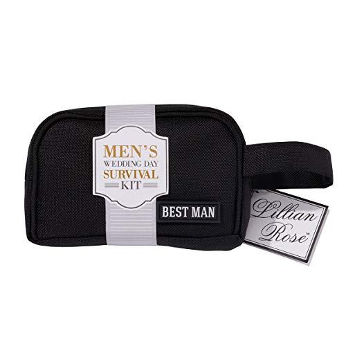 Lillian Rose Best Man kit de survie, Multi, Sac Dimensions : 13,3 x 10,2 cm