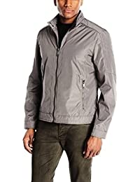 Marc New York by Andrew Marc Bryan City Men's Rain Tech Moto Jacket