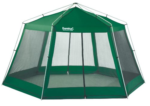 Eureka Tente hexagonale Vert cactus Taille XL
