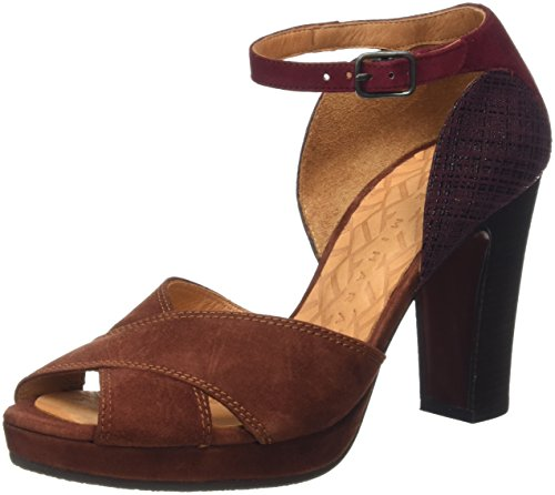 Chie Mihara Besito, Babies et talons femme Marron - Brown (Ante Terra/Linnen Grape)