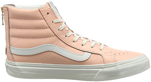 Vans Sk8-Hi, Sneakers Hautes Mixte Adulte Orange (Mlx)