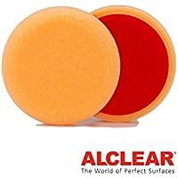 ALCLEAR Set di 2 dischetti di finitura anti ologrammi per un sistema disco Ø 80x25 mm, arancione - ukpricecomparsion.eu