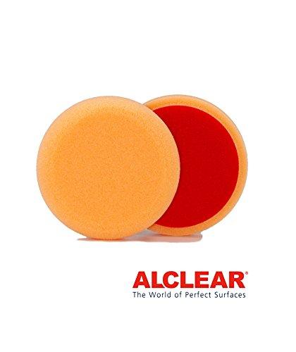 Preisvergleich Produktbild ALCLEAR 558030AH Polierpad gegen Hologramme,  Durchmesser : 80 x 25 mm,  orange, 2er Set