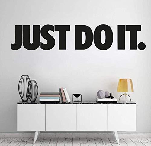 Wandkunst Aufkleber Aufkleber für Wohnzimmer Arbeitszimmer Büro Moderne Wohnkultur 76×15 cm