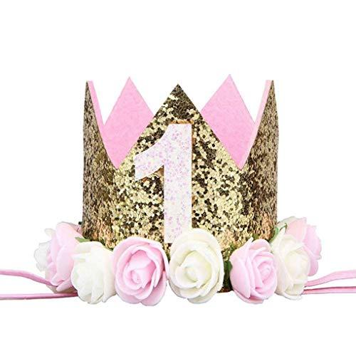 Zerama Partido Flor niña cumpleaños Muchacho Cap