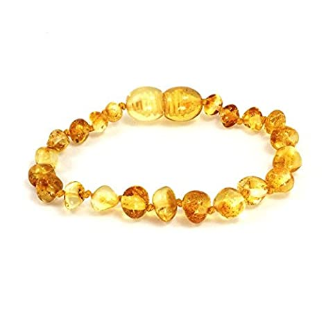 100% Genuine Baltic Amber Anklet Bracelet Honey sizes 11cm 12cm 13cm 14cm 15cm 16cm. Free and Fast Delivery. Money Back Guarantee (15